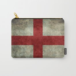 Flag of England (St. George's Cross) Vintage retro style Carry-All Pouch