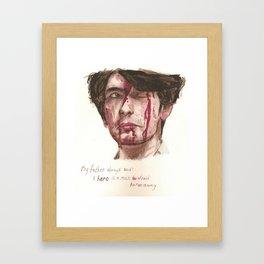 Freddie Lyon Framed Art Print