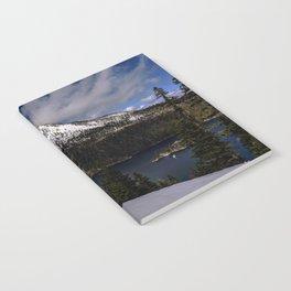 Emerald Bay in April 2019 Notebook