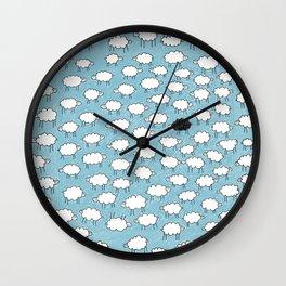 CloudSheeps Wall Clock