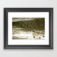 Cove by the lake Framed Art Print