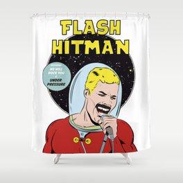 Flash Hitman Shower Curtain