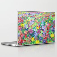 texas Laptop & iPad Skins featuring Texas Wildflowers by Ann Marie Coolick