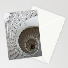 the spiral (architecture) Stationery Cards