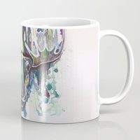 moose Mugs featuring Moose by Halfmoon Industries