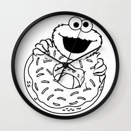 I love Donuts too Wall Clock