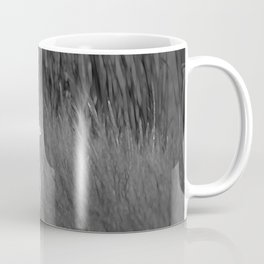 Black & White Common Egret California Pencil Drawing Photo Coffee Mug
