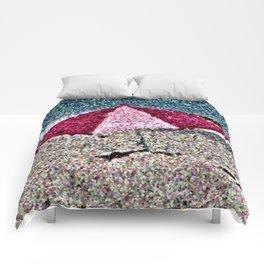Pink Umbrella Comforters
