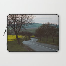 Along a rural road - Landscape and Nature Photography Laptop Sleeve