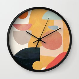 Modern Abstract Art 70 Wall Clock