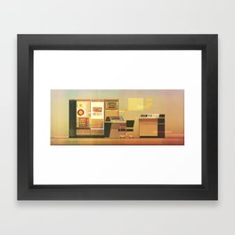 Computer No.2 Framed Art Print