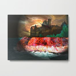 castel island Metal Print