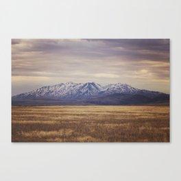 Rustic Mountain Photograph Canvas Print