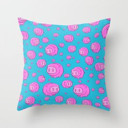 When Pigs Fly, Or Float! Throw Pillow
