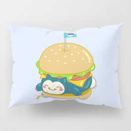 Snorlax Burger Pillow Sham