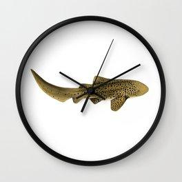 LEOPARD/ZEBRA SHARK Wall Clock