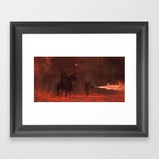 1920 - apocalypse day Framed Art Print