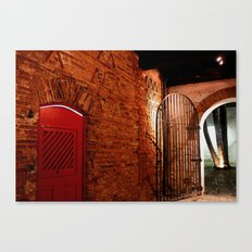 OLD HOUSE. Canvas Print