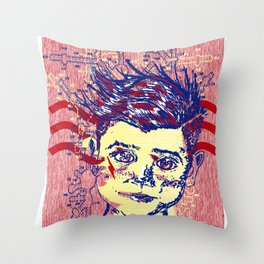 cool kid16S Throw Pillow