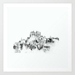 City Marburg Kunstdrucke