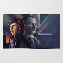 The Holmes' brothers - Sherlock Rug