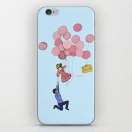 Men kom då! iPhone Skin