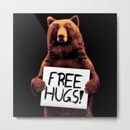 Free Bear Hugs Metal Print