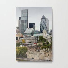 London ... city view I Metal Print