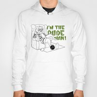 the big lebowski Hoodies featuring Dude by LullaBy D