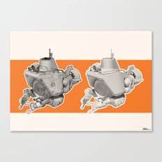 Exporers III - Submarine Canvas Print