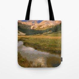 Glacier National Park in Autumn Tote Bag