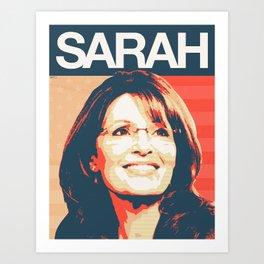 Sarah Palin Art Print