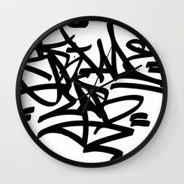 Grime Lab Graffiti Wall Clock