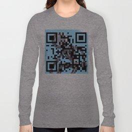 QR CODE Long Sleeve T-shirt
