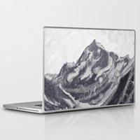 cook Laptop & iPad Skins featuring Cook Grey by varvar2076