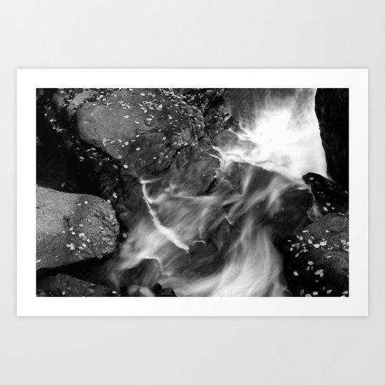 Ever Flowing Art Print