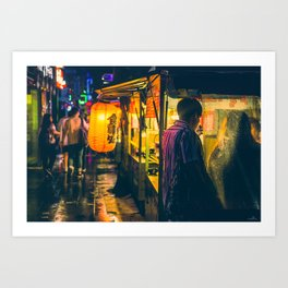 Jongro Up-close Art Print