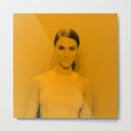 Jessica Lowndes - Celebrity Metal Print