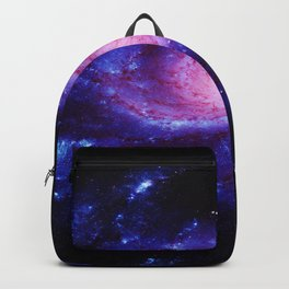 Spiral gAlAxy : Purple Blue Backpack