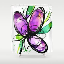 Ecstasy Bloom 10 by Kathy Morton Stanion Shower Curtain