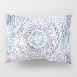 DEEP PURPLE MANDALA Pillow Sham