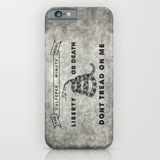 The Culpeper Minutemen flag, Vintage Grunge iPhone 6s Slim Case