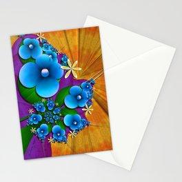 Blushing Blue Stationery Cards