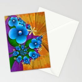 Blushing Blue Stationery Cards