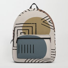 Mix it Up Geo Pattern Backpack