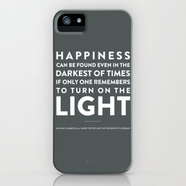 Light - Quotable Series iPhone Case