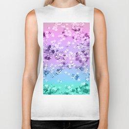 Unicorn Girls Glitter Stars #1 #shiny #decor #art #society6 Biker Tank