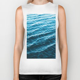Wanderful Waves Biker Tank