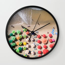 Sunday Somewhere Wall Clock