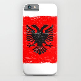 ALBANIAN FLAG Albania Gift Double-Headed Eagle iPhone Case